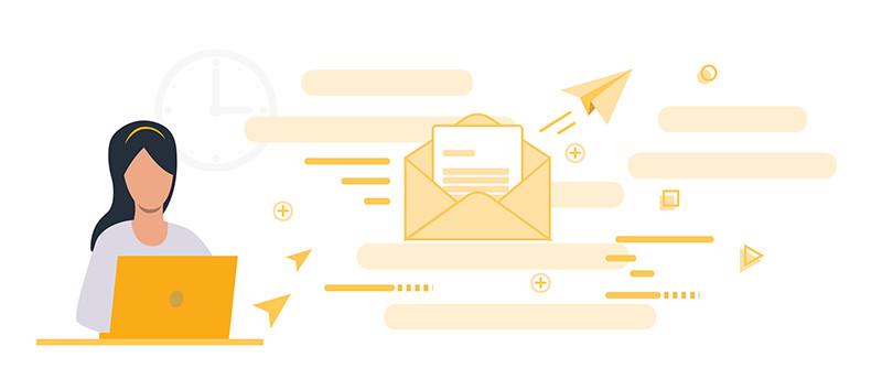 Envoyer un courrier facilement