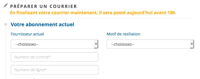 Modele De Courrier De Resiliation D Abonnement De Telephonie Mobile